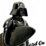 Darth Vader na plaži