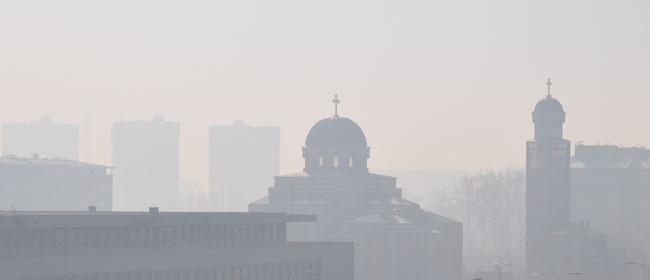 Zagađenje u Beogradu!!!
