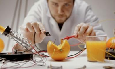 Pomorandža kao baterija