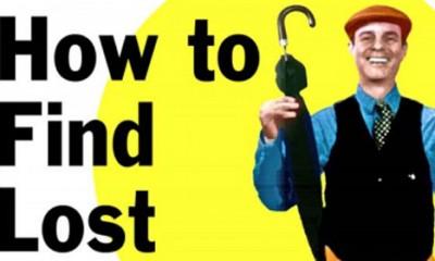 Kako da pronađete izgubljene stvari