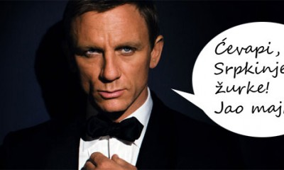 Senzacija: Džejms Bond u Srbiji!