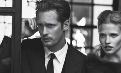 Alexander Skarsgard u Vogue editorijalu