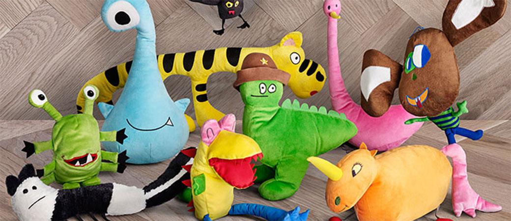 Slika: Ikea je napravila igračke od dečijih crteža
