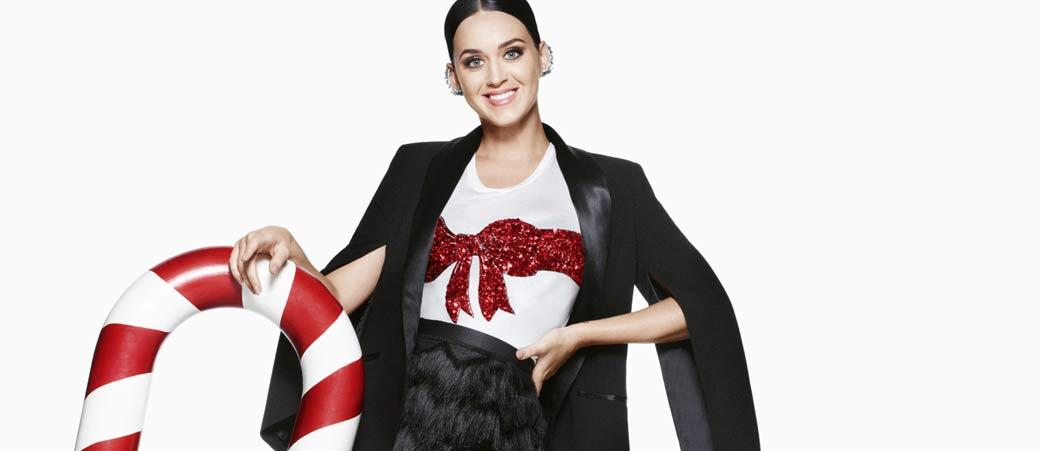 Slika: Katy Perry za H&M i prazničnu kolekciju