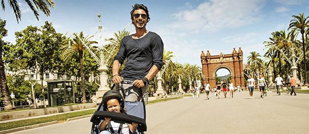 Slika: Skejt i kolica za bebe u jednom