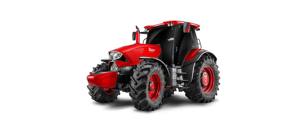 Slika: Ferrari u svetu traktora