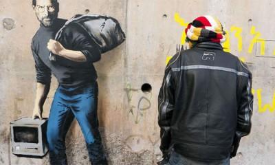 Banksy nacrtao Steve Jobsa