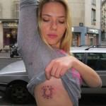 Scarlett Johansson otkrila novu tetovažu