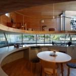 Drvena okrugla kuća