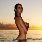 Erin Wasson na plaži  %Post Title