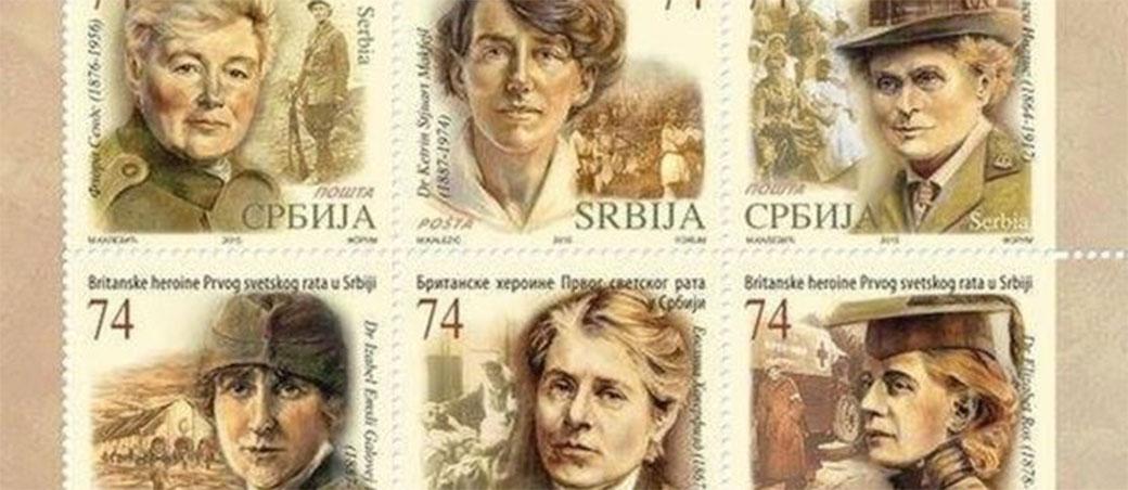 Slika: Zašto je Pošta Srbije stavila 6 Britanki na nove markice?