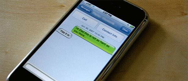 Da li stavaljte tačku na kraj SMS poruke?