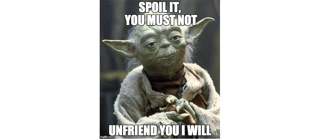 Slika: Kako da zaustavite spojlere za Star Wars