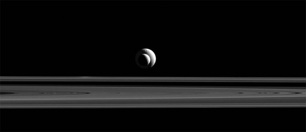 Kod Saturna snimljen neverovatan prizor