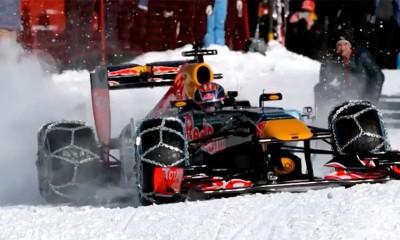 Red Bull provozao Formulu po snegu i ledu  %Post Title