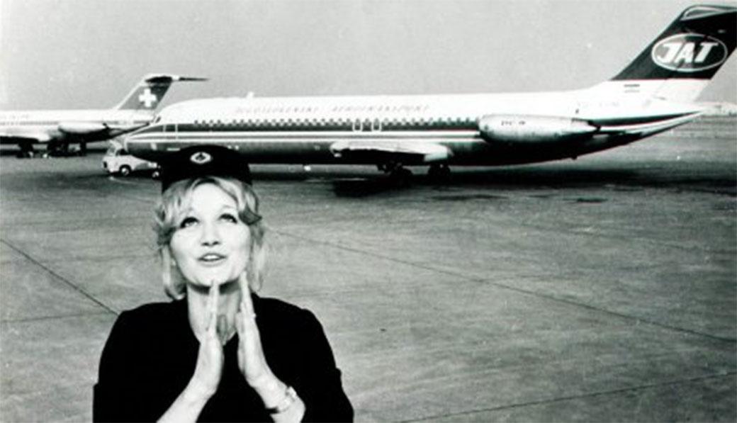 Stjuardesa JAT-a Vesna Vulović na današnji dan je pala sa 10.160 metara