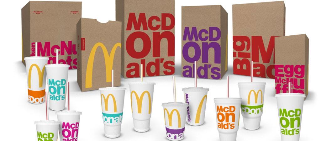McDonald's ima novu ambalažu