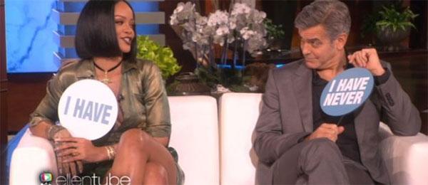 Rihanna i Clooney igrali igru ISTINE