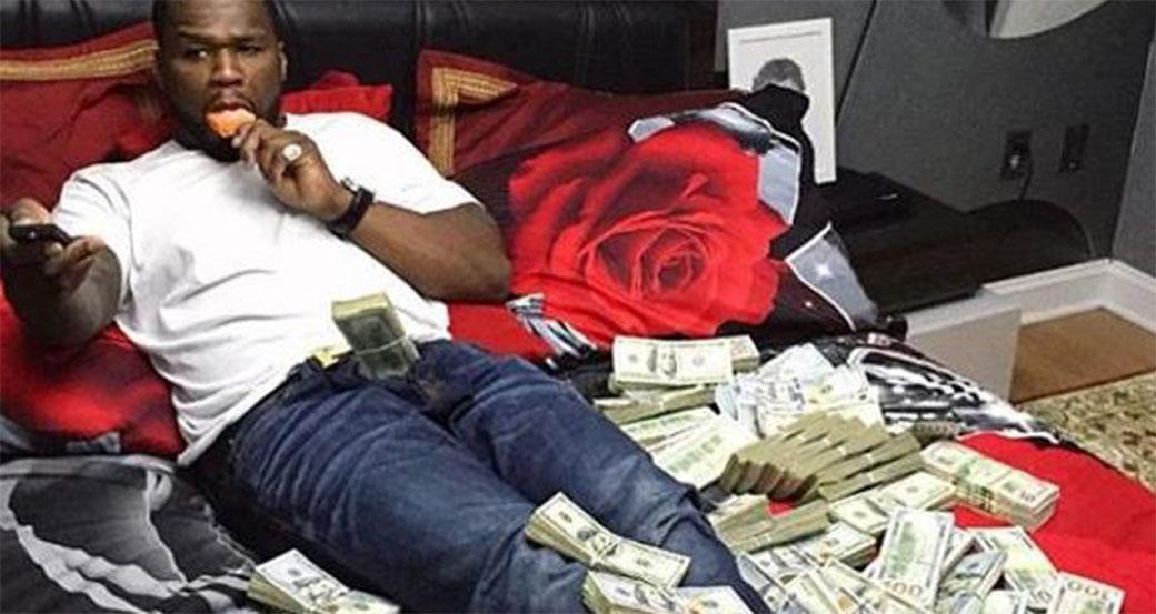 Slika: 50 cent mora na sud zbog fotografija sa novcem