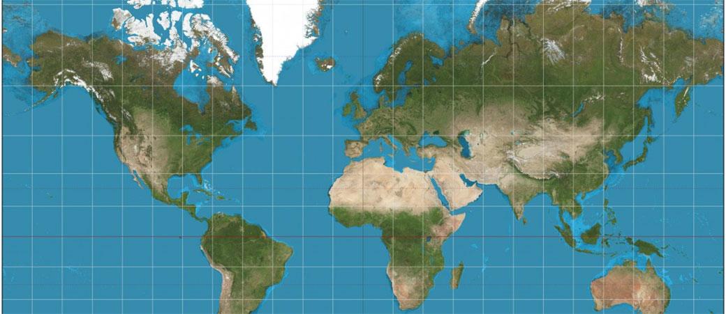 Lažu vas sve vreme: Evo kako STVARNO izgleda mapa sveta