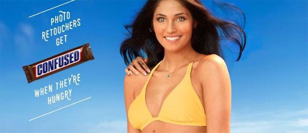Slika: Snicker ima genijalnu reklamu prepunu grešaka