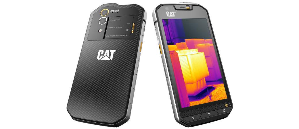 Caterpillar neuništivi telefon sada ima i termalnu kameru