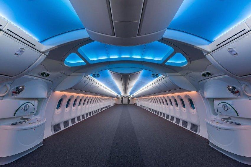 Ovako izgleda prazan Boeing