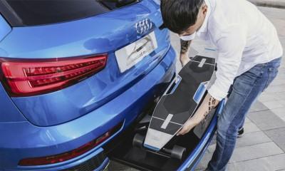 Audi ima skuter u zadnjem braniku  %Post Title