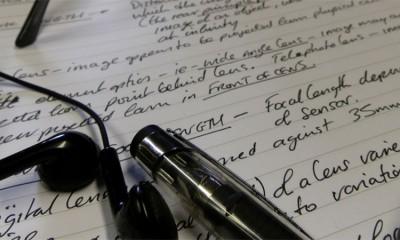 Kada bi trebalo da stvari zapisujete rukom