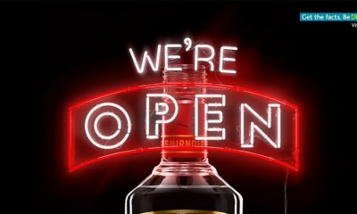 Smirnoff: Otvoreno je!