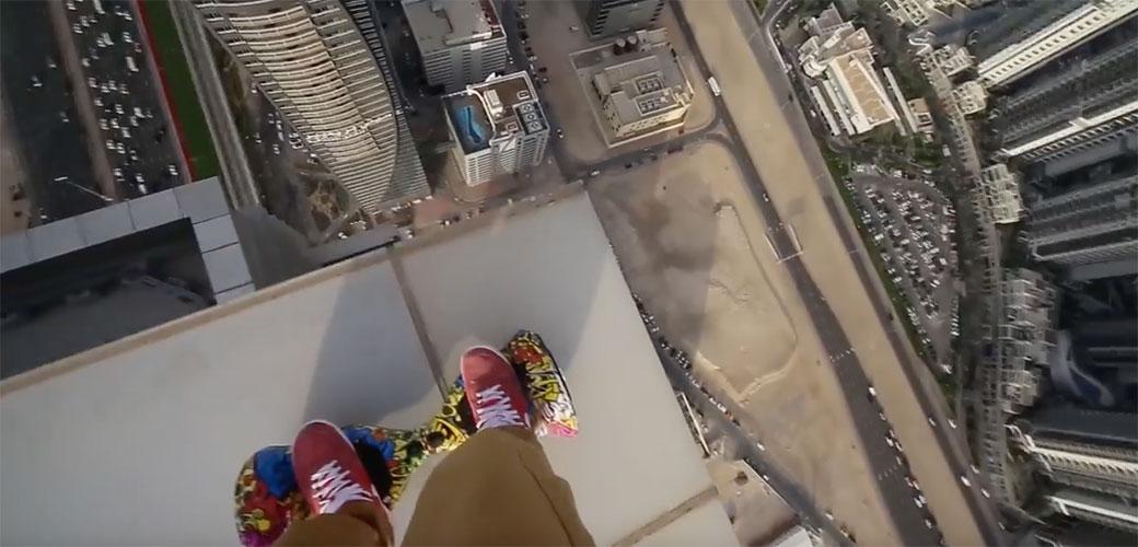 Ludi Rus na vrhu Dubajia provocira sreću