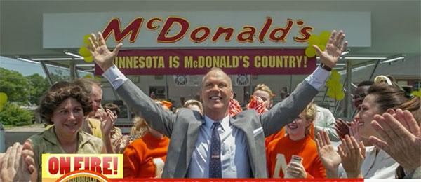 Film o osnivaču McDonald'sa
