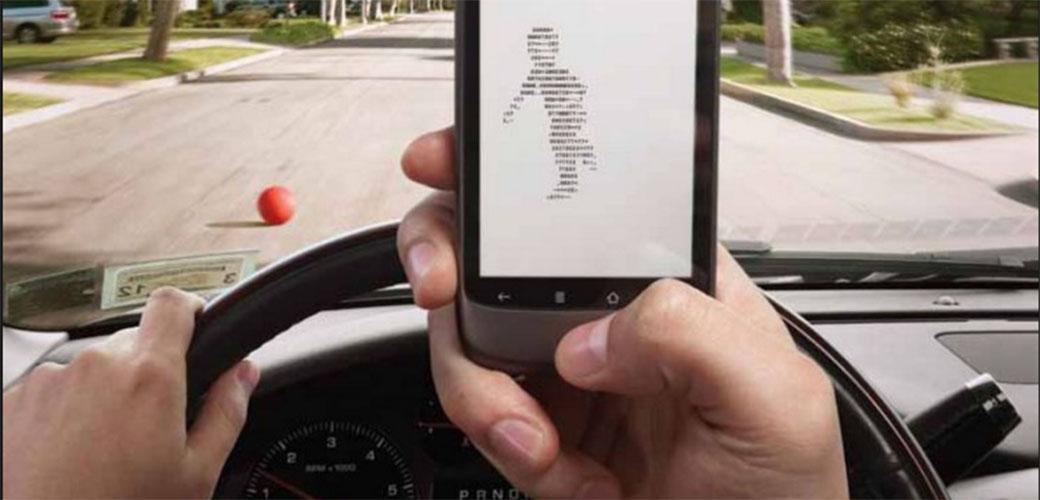 Slika: Kucanje poruka u vožnji je još gore