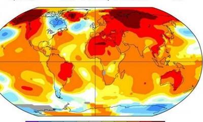 NASA: Najtopliji mesec IKAD  %Post Title