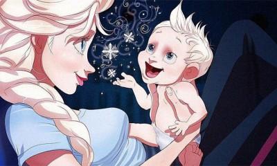 Disney princeze kao majke ili trudnice