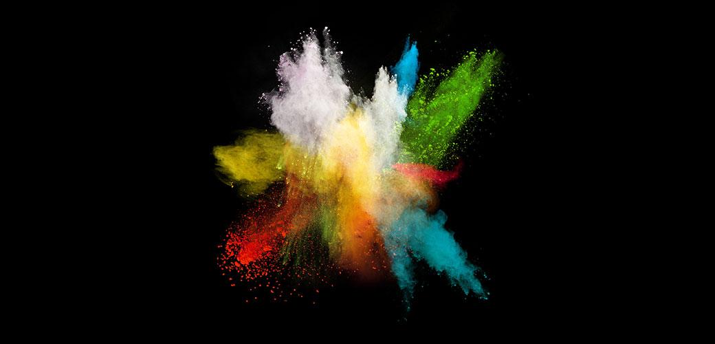 Slika: Savršene boje na savršenoj crnoj