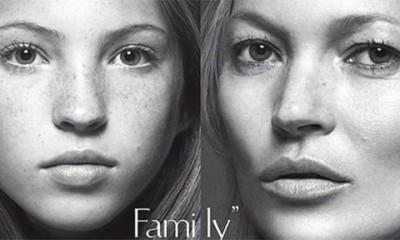Kate Moss sa ćerkom u Vogue  %Post Title