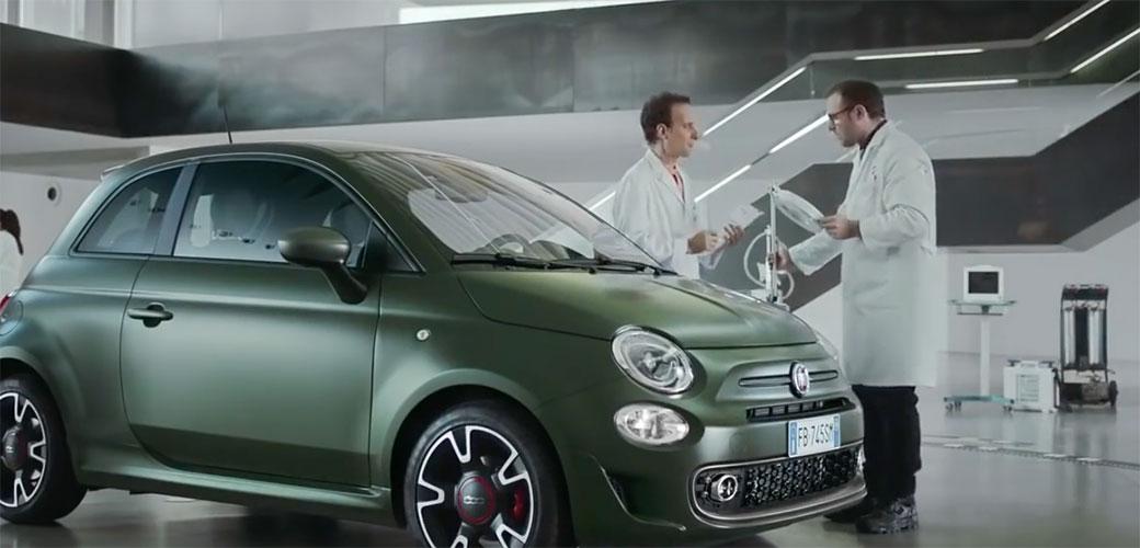 Slika: Fiat sprema novi 500s za sve situacije