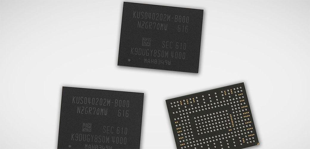 Slika: Samsung spakovao 512GB na jedan čip