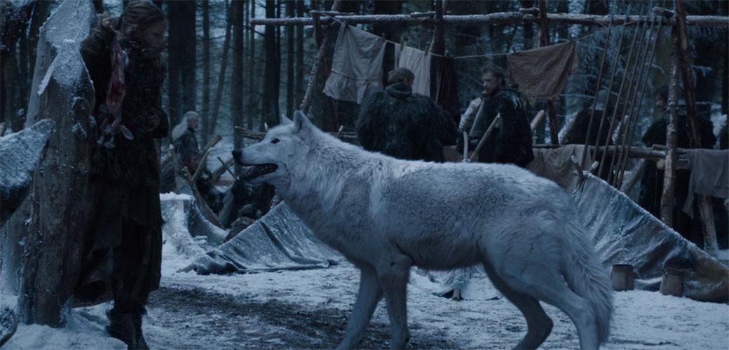 Gde je bio jezovuk Jona Snowa za vreme bitke?