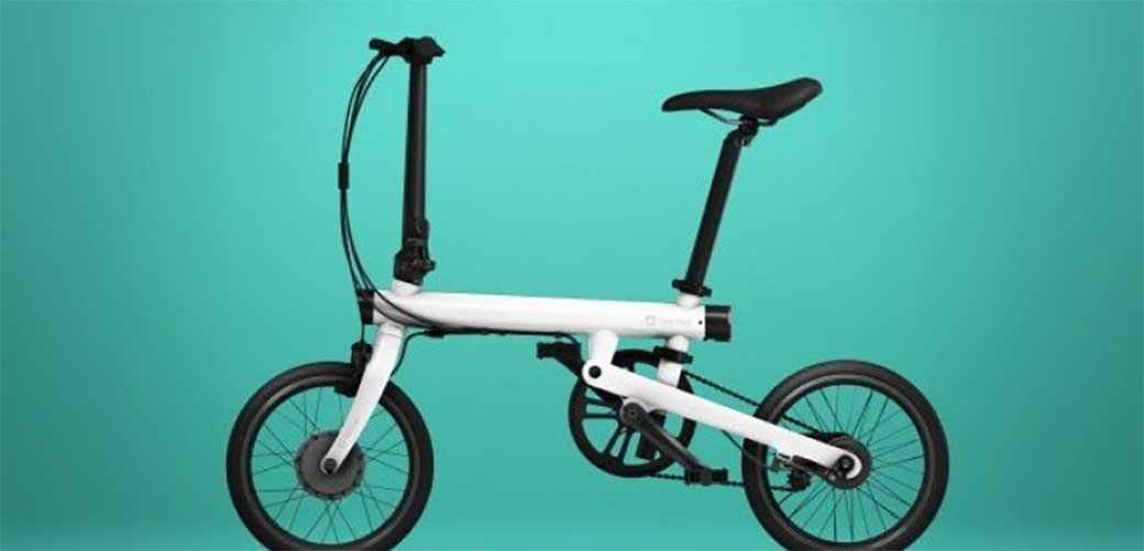 Slika: Prvi pametni električni sklopivi bicikl