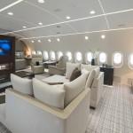 Unutrašnjost privatnog Boeinga 787