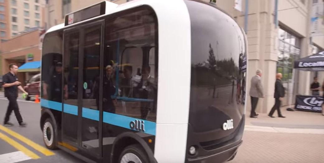 Električni minibus bez vozača