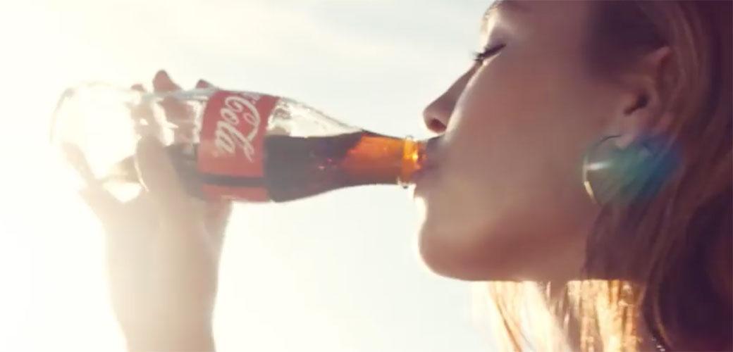 Slika: Coca-Cola pobednička reklama