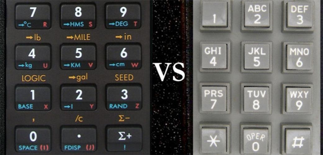 Slika: Zašto su brojevi obrnuti na kalkulatoru?
