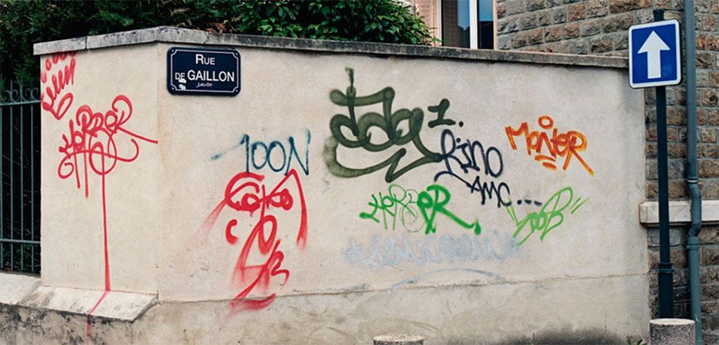 Slika: Ovaj tip sređuje tuđe grafite