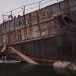 Neverovatni murali iznad vode