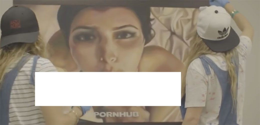 Slika: Pornić Kim Kardashian kao inspiracija