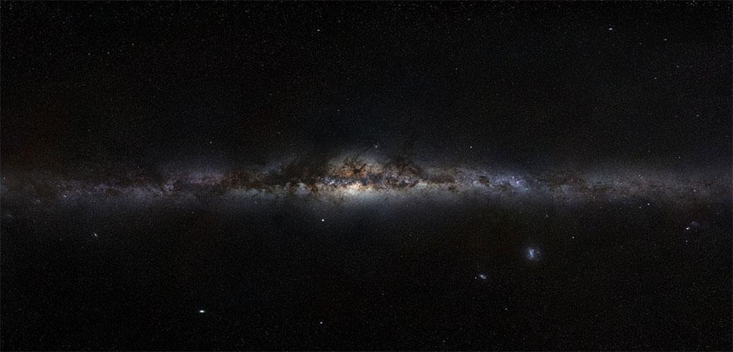 Slika: Nešto veliko i vrelo okružuje našu galaksiju