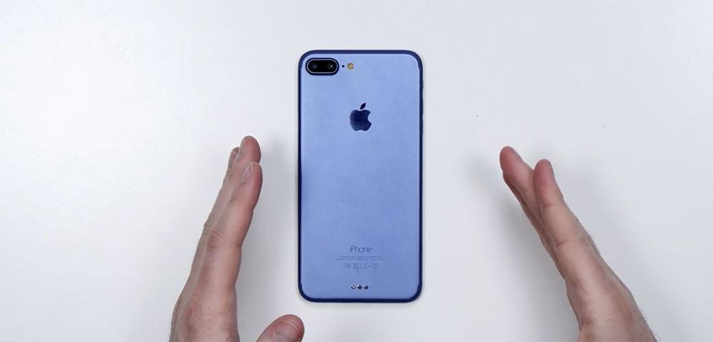 Novi iPhone će biti plave boje